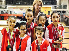 9th Singapore Gymnastics National Championships 2017