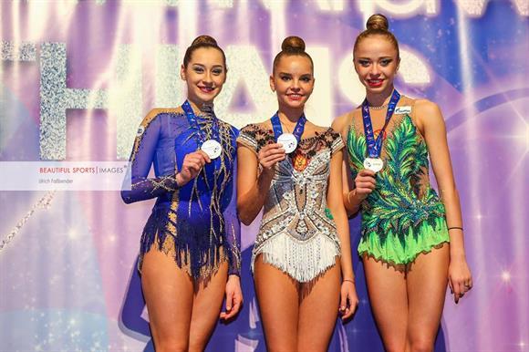 Dina Averina Grand Prix Thiais 2017
