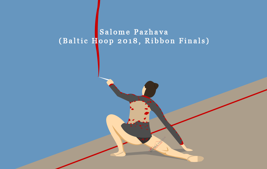 Salome Pazhava Ribbon Finals, 2018 Baltic Hoop