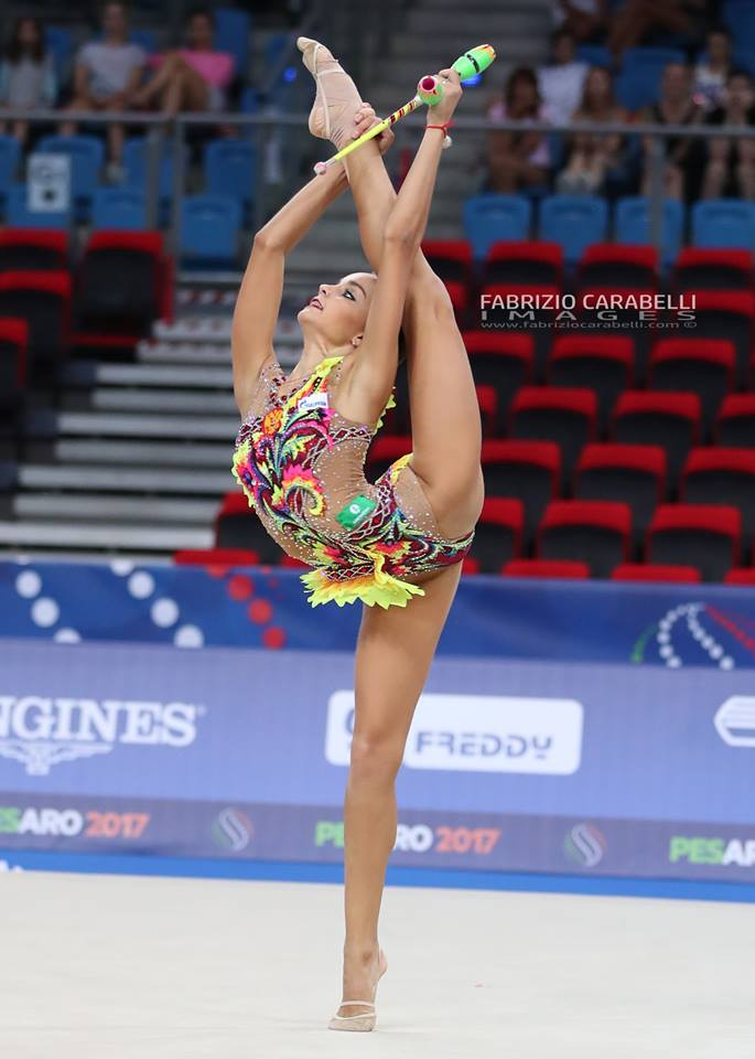 Dina Averina Clubs World Championships 2017