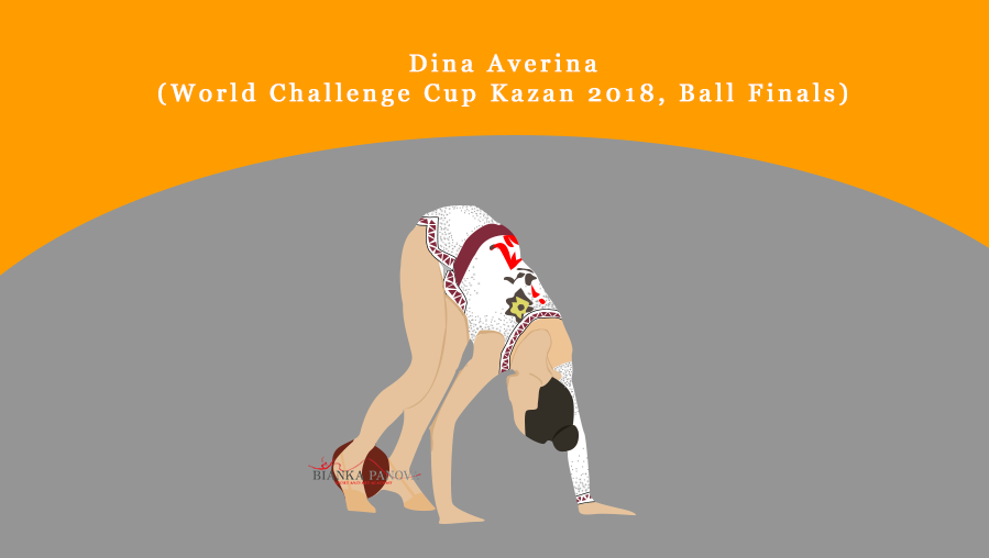 Dina Averina Ball Finals, World Challenge Cup Kazan 2018
