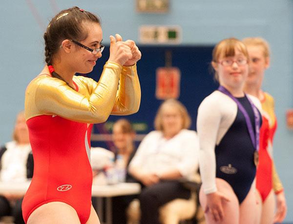 Special Olympics Gymnastics
