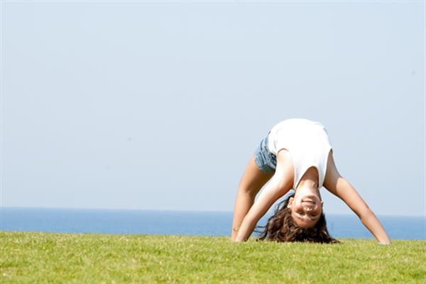 Flexible Kid Gymnast