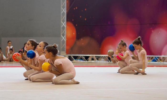 Bianka Panova Rhythmic Gymnastics Students