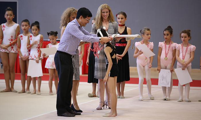 Bianka Panova Rhythmic Gymnastics Students Certificates
