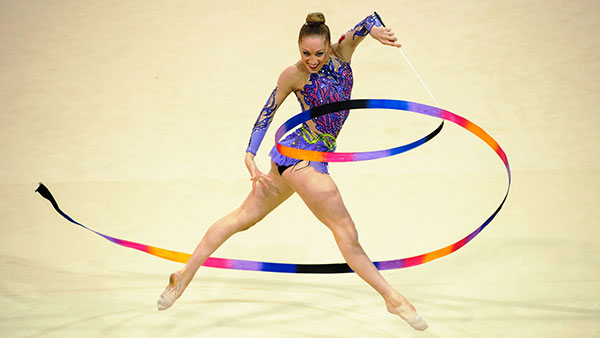 Rhythmic Gymnast Focus