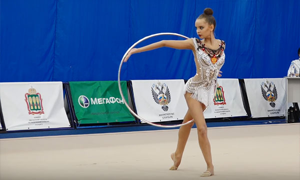 Dina Averina - 2017 Russian Championships