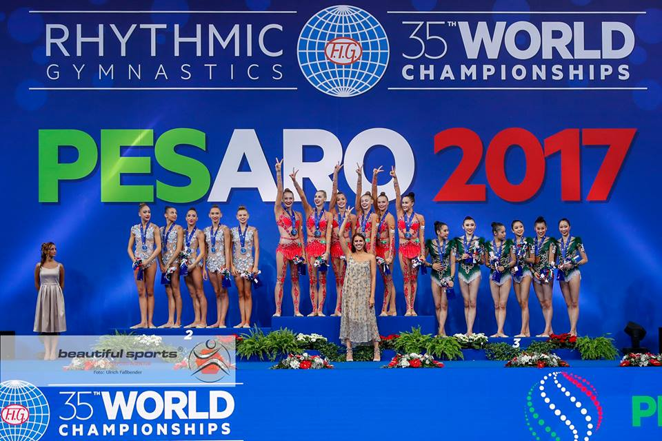 Groups Podium World Championships 2017