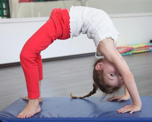 Flexible Kid Gymnast