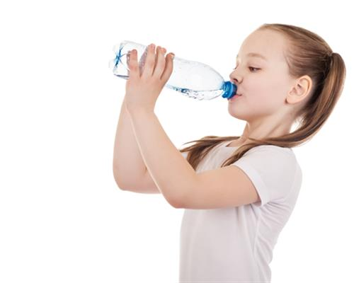 Young Kid Drinking Water