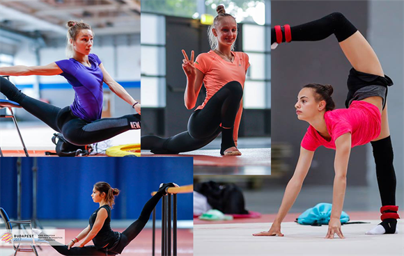 Rhythmic Gymnasts for European Championships 2017