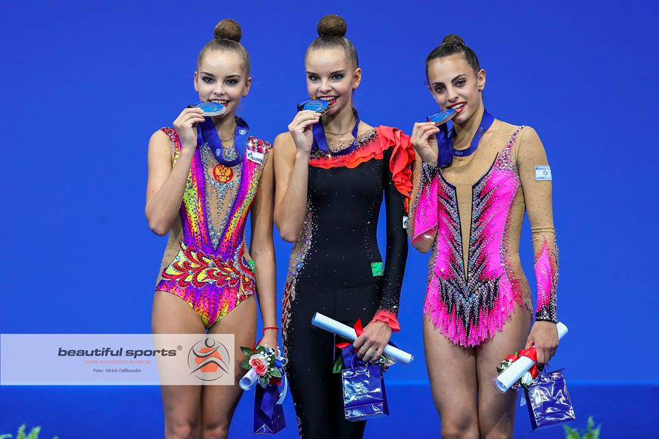 All-Around Podium World Championships 2017