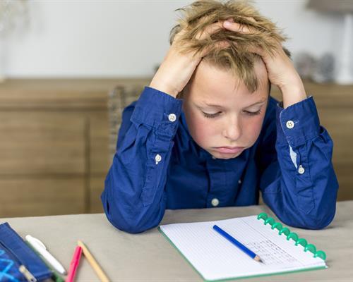 Stressed Kid