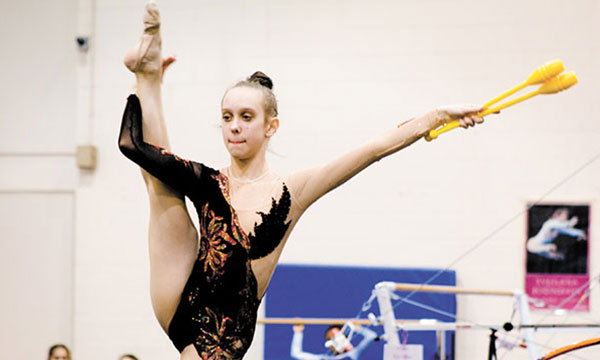 Revealing The Rhythmic Gymnasts' Perfect Balance Secrets