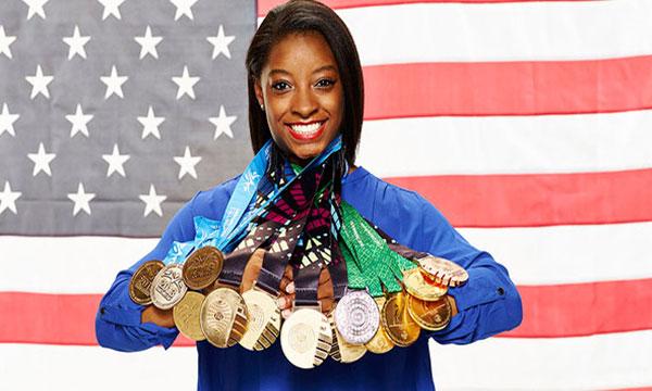AP Female Athlete of the Year, Simone Biles