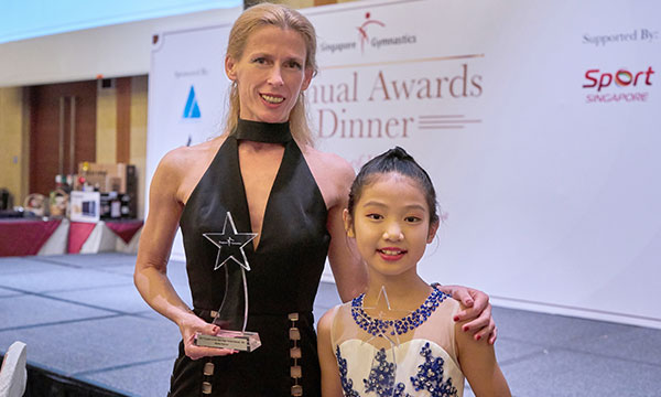 Double-Victory for Bianka Panova Academy at the 2018 Singapore Gymnastics Annual Awards