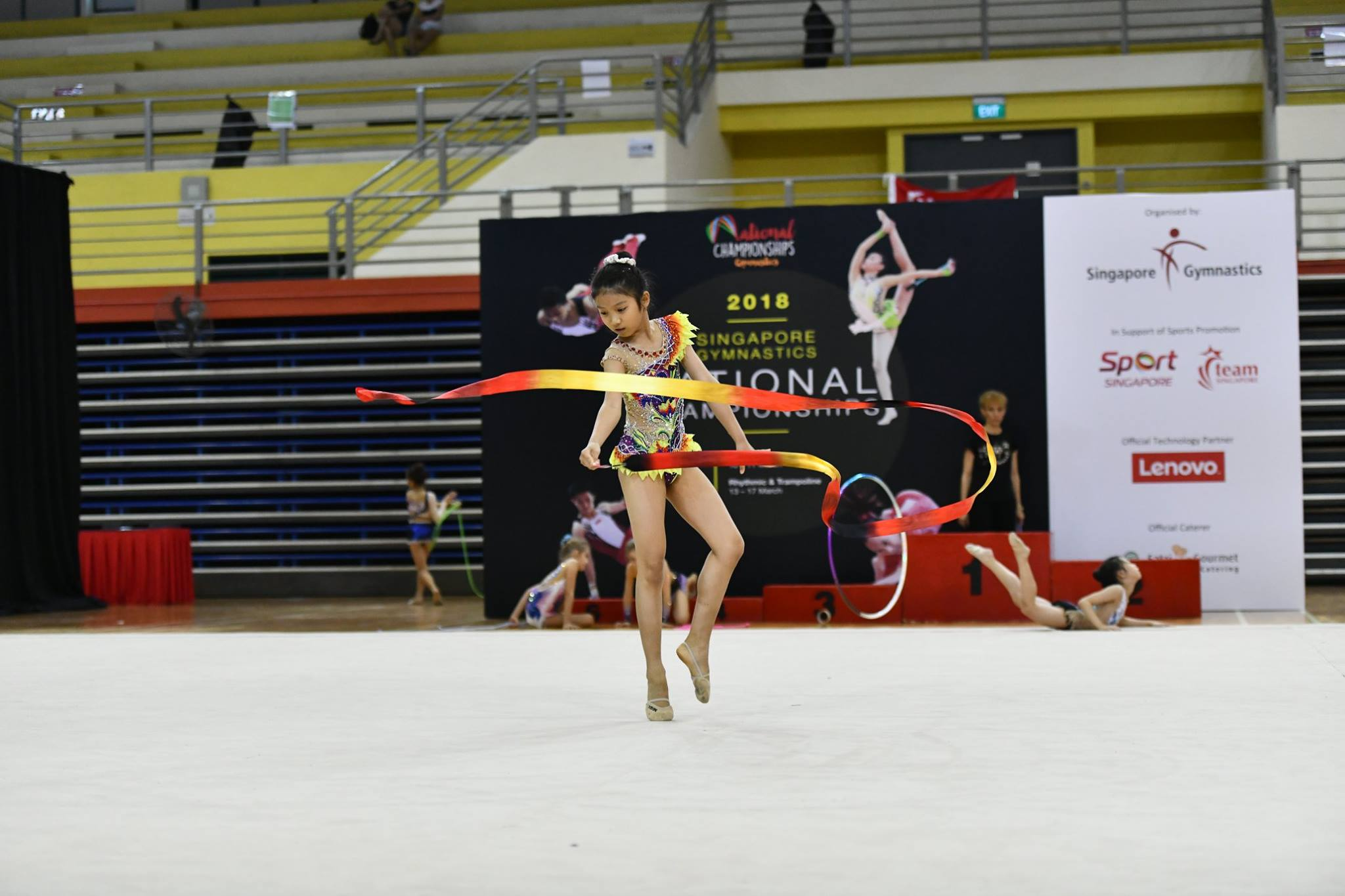 Podium Training For 10th Singapore National Championships