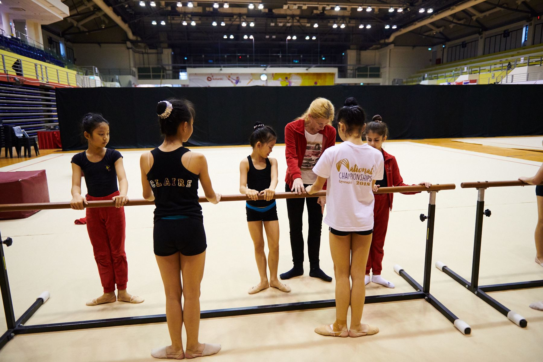 Podium Training for SG Open Championships 2018 10