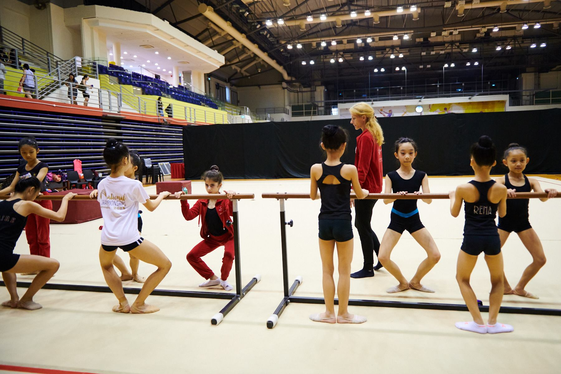 Podium Training for SG Open Championships 2018 11