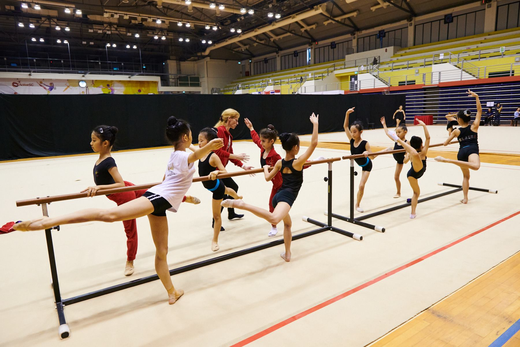 Podium Training for SG Open Championships 2018 14