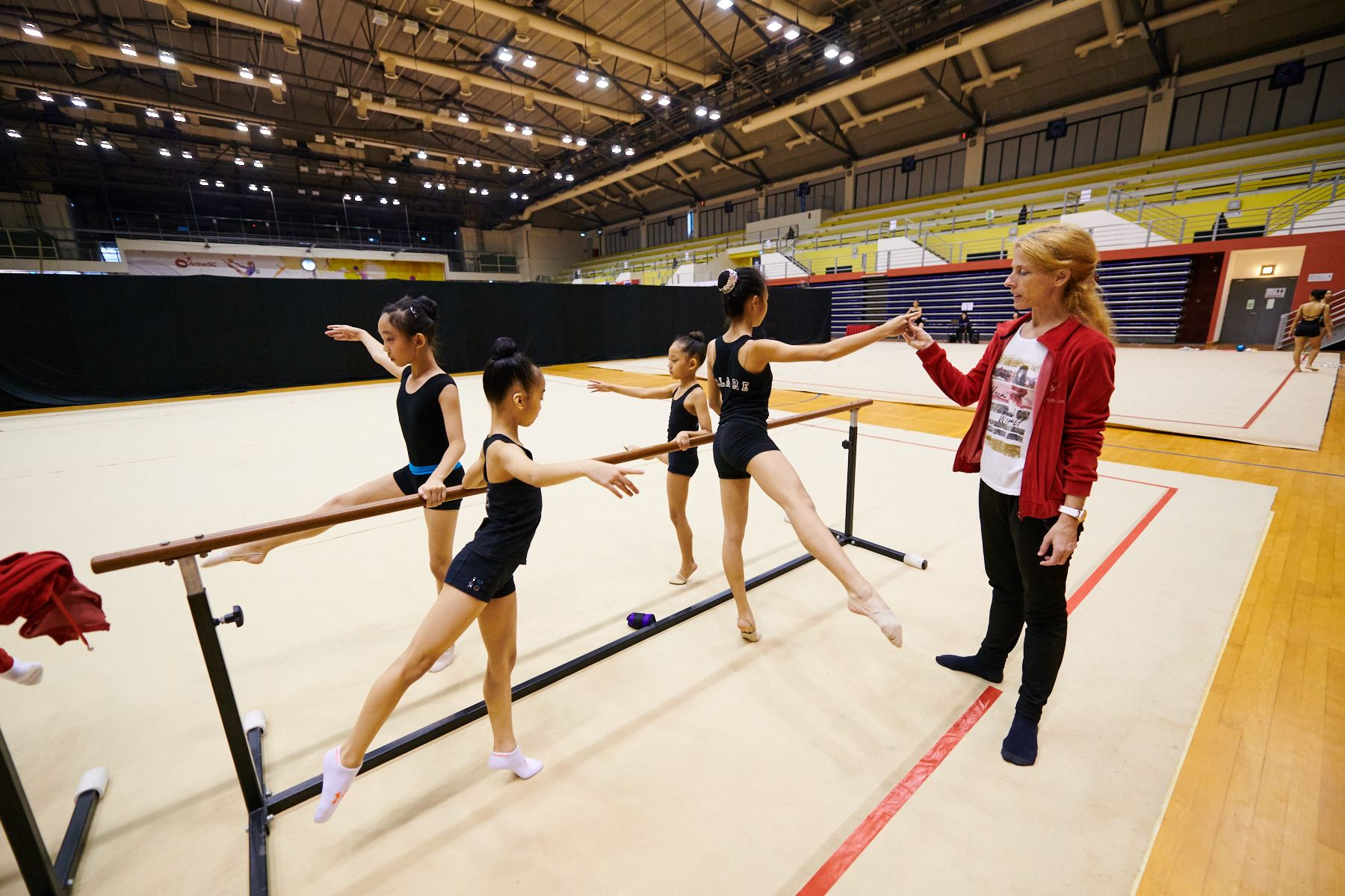 Podium Training for SG Open Championships 2018 15