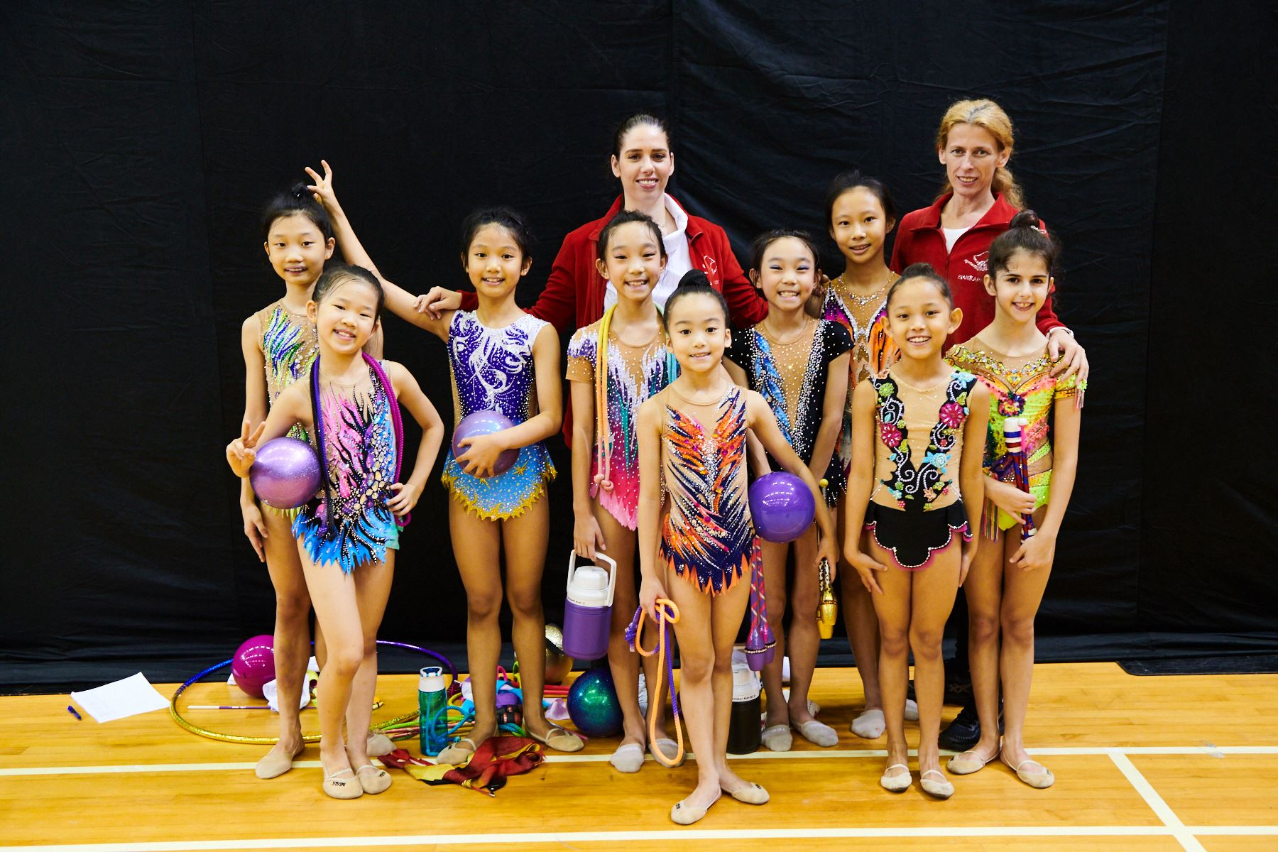 Podium Training for SG Open Championships 2018 2