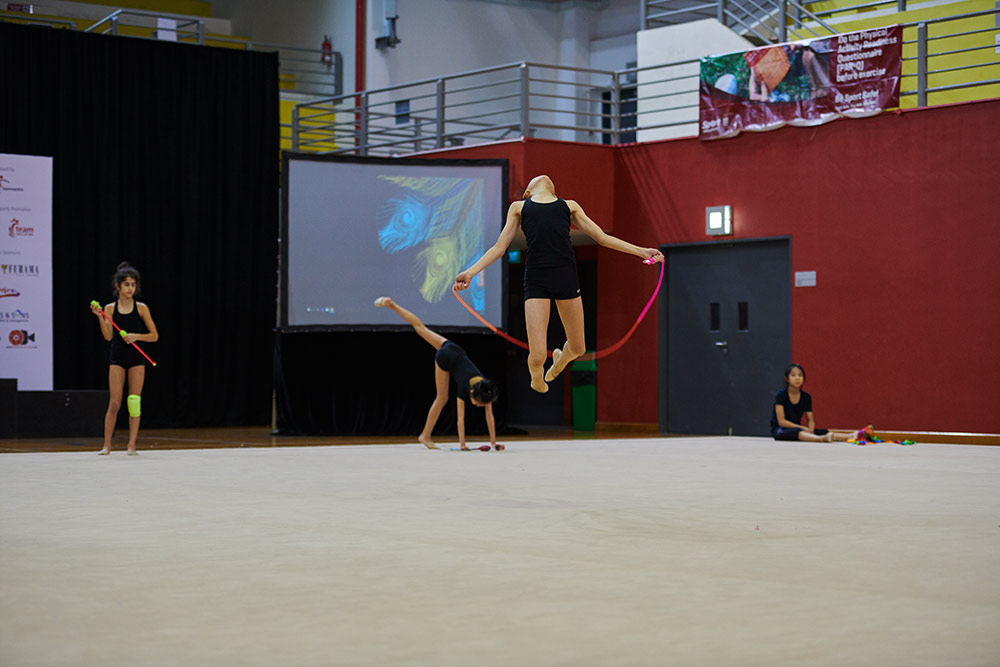 Podium Training for SG Open Championships 2019 4
