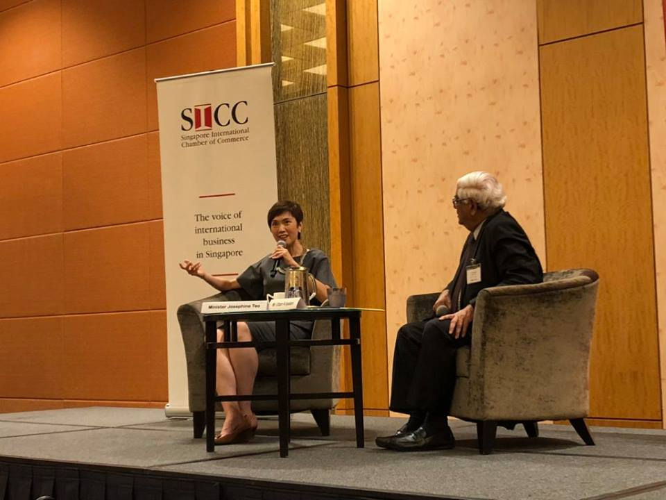 SICC Dialogue with Minister of Manpower Mrs. Josephine Teo