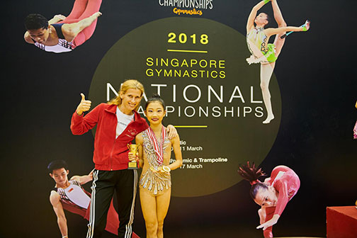10th Singapore Gymnastics National Championships 1