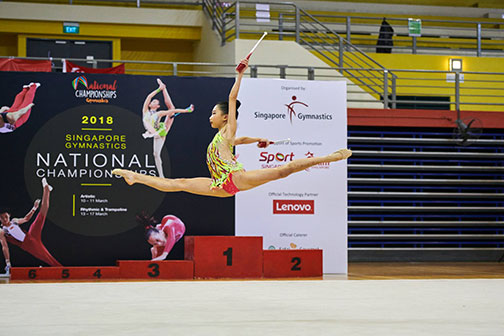 10th Singapore Gymnastics National Championships 14