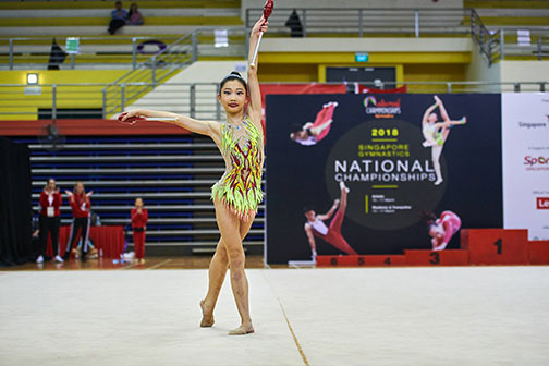 10th Singapore Gymnastics National Championships 18