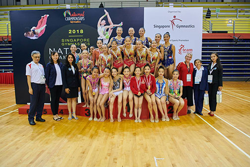 10th Singapore Gymnastics National Championships 41