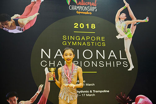 10th Singapore Gymnastics National Championships 47