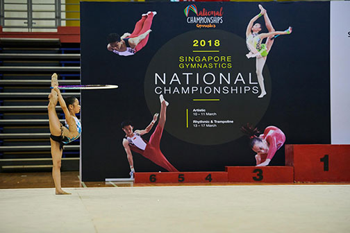10th Singapore Gymnastics National Championships 5