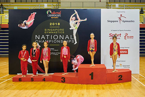 10th Singapore Gymnastics National Championships 55