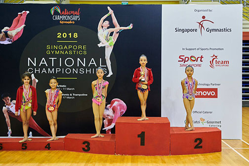 10th Singapore Gymnastics National Championships 58