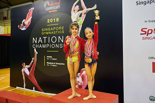 10th Singapore Gymnastics National Championships 60