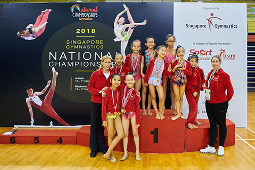 10th Singapore Gymnastics National Championships 61