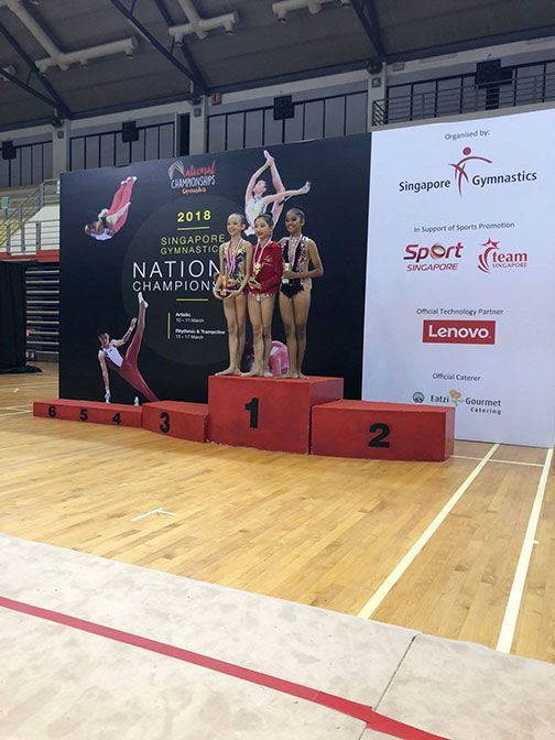 10th Singapore Gymnastics National Championships 66