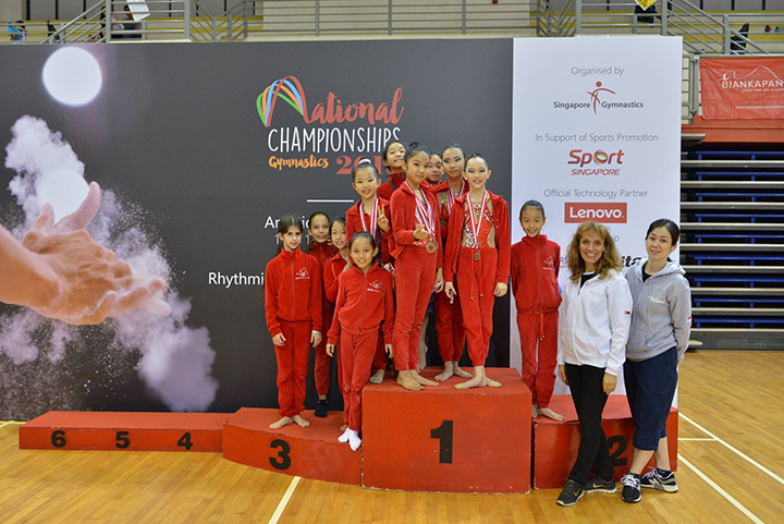 Singapore Gymnastics National Championships 2019 1