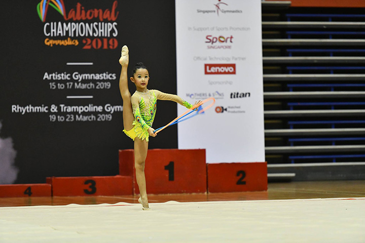 Singapore Gymnastics National Championships 2019 12