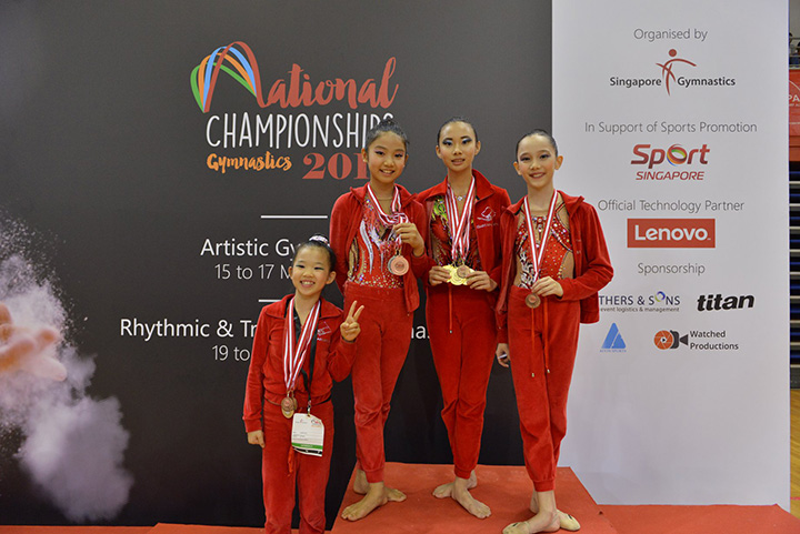 Singapore Gymnastics National Championships 2019 22