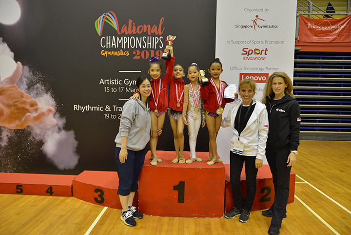 Singapore Gymnastics National Championships 2019 7