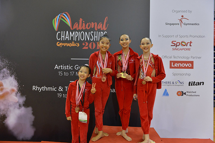 Singapore Gymnastics National Championships 2019 77