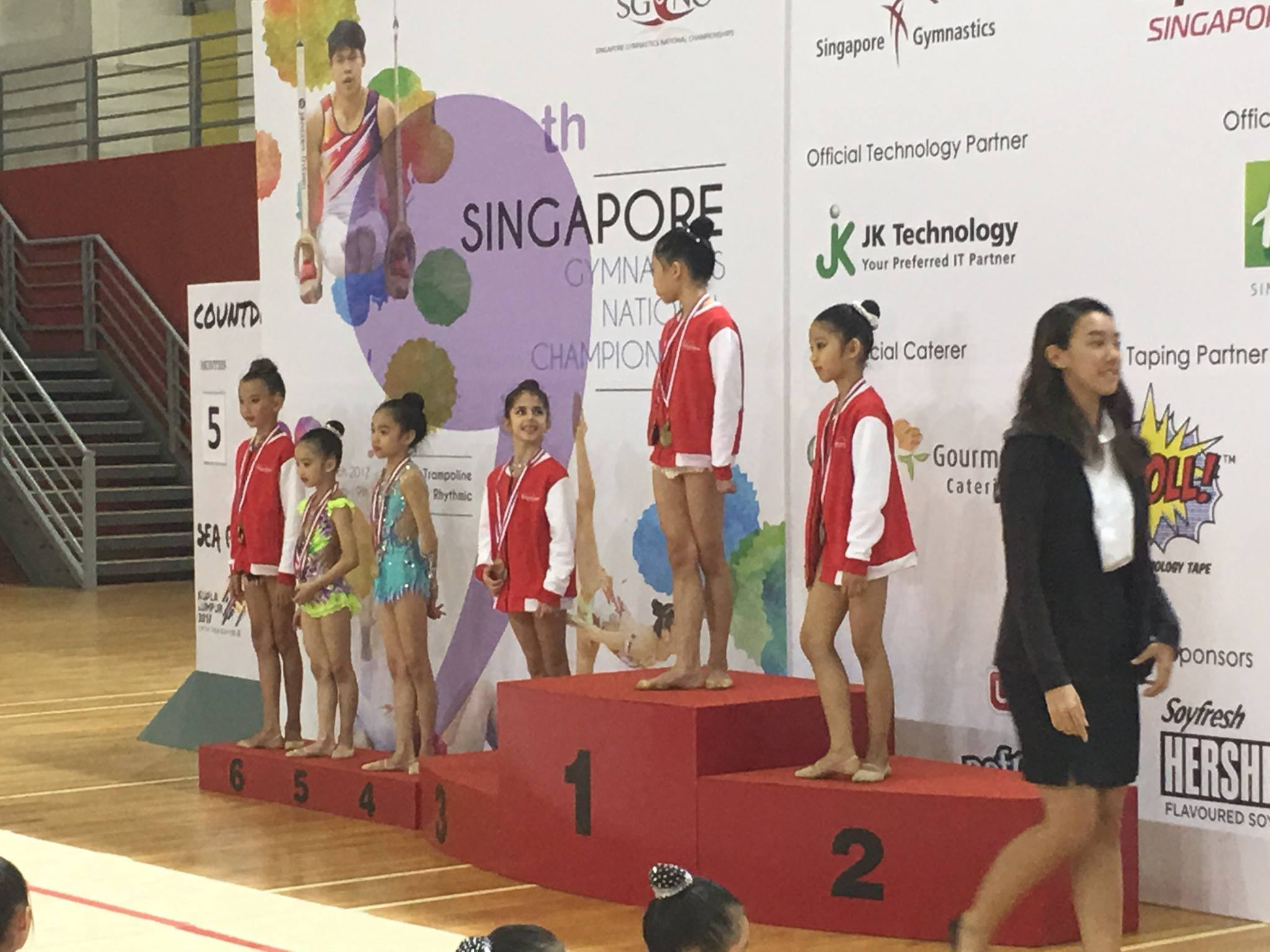 9th Singapore Gymnastics National Championships 2017 1