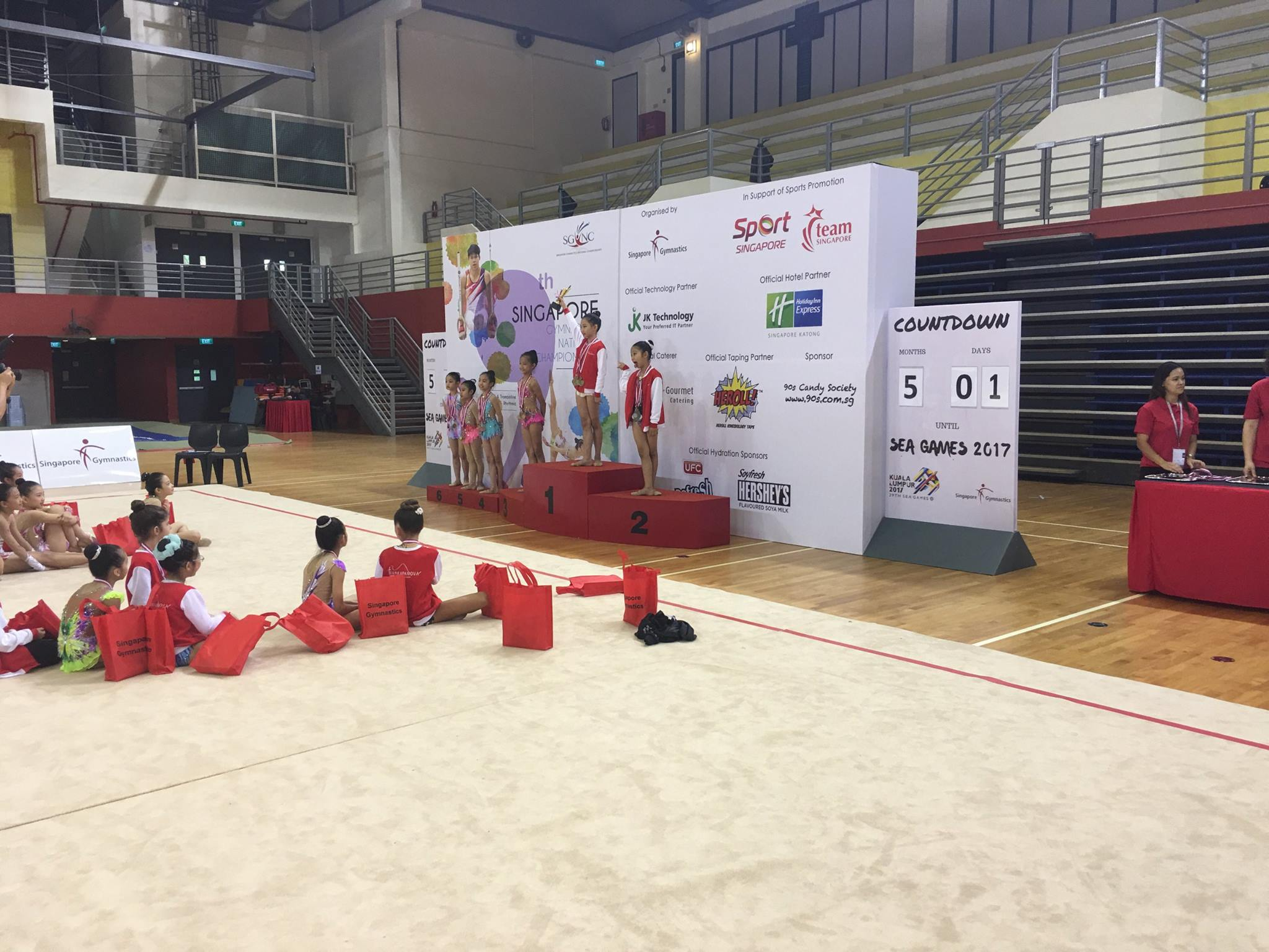 9th Singapore Gymnastics National Championships 2017 11