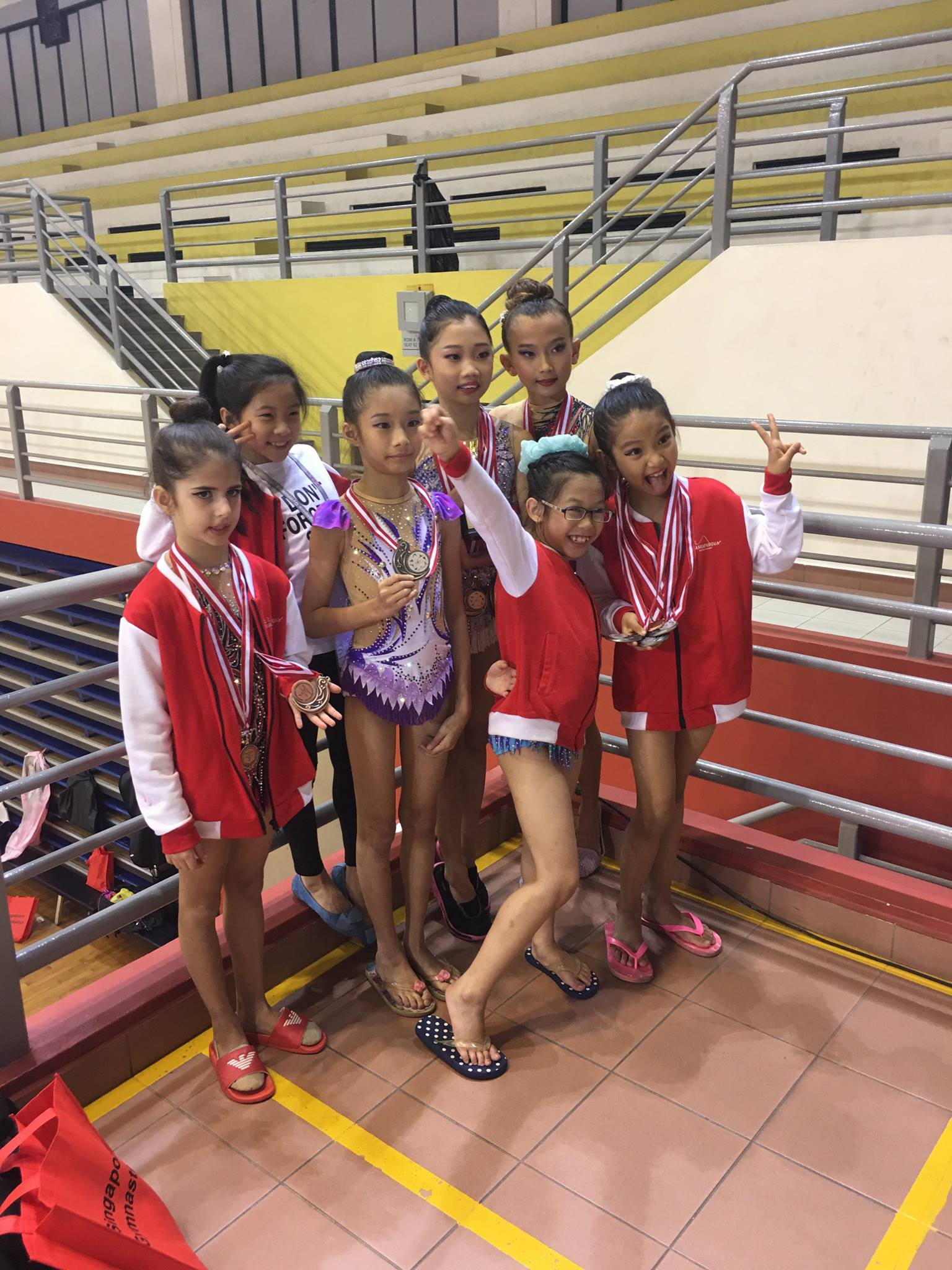 9th Singapore Gymnastics National Championships 2017 12