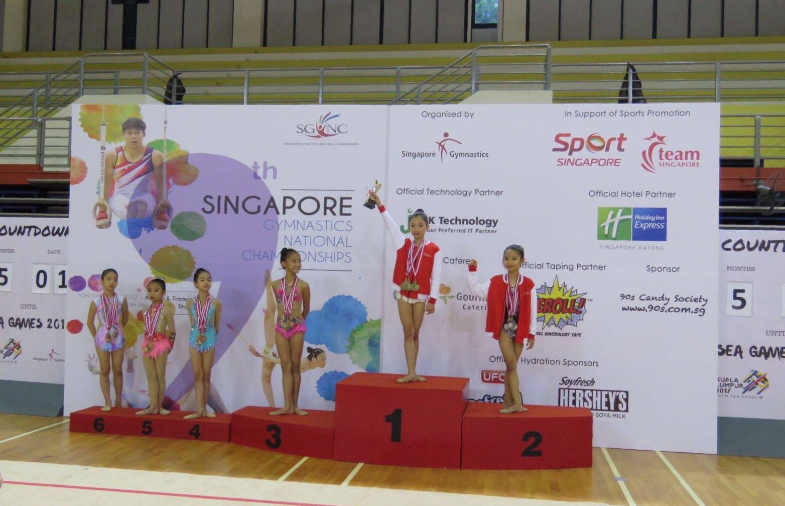 9th Singapore Gymnastics National Championships 2017 2