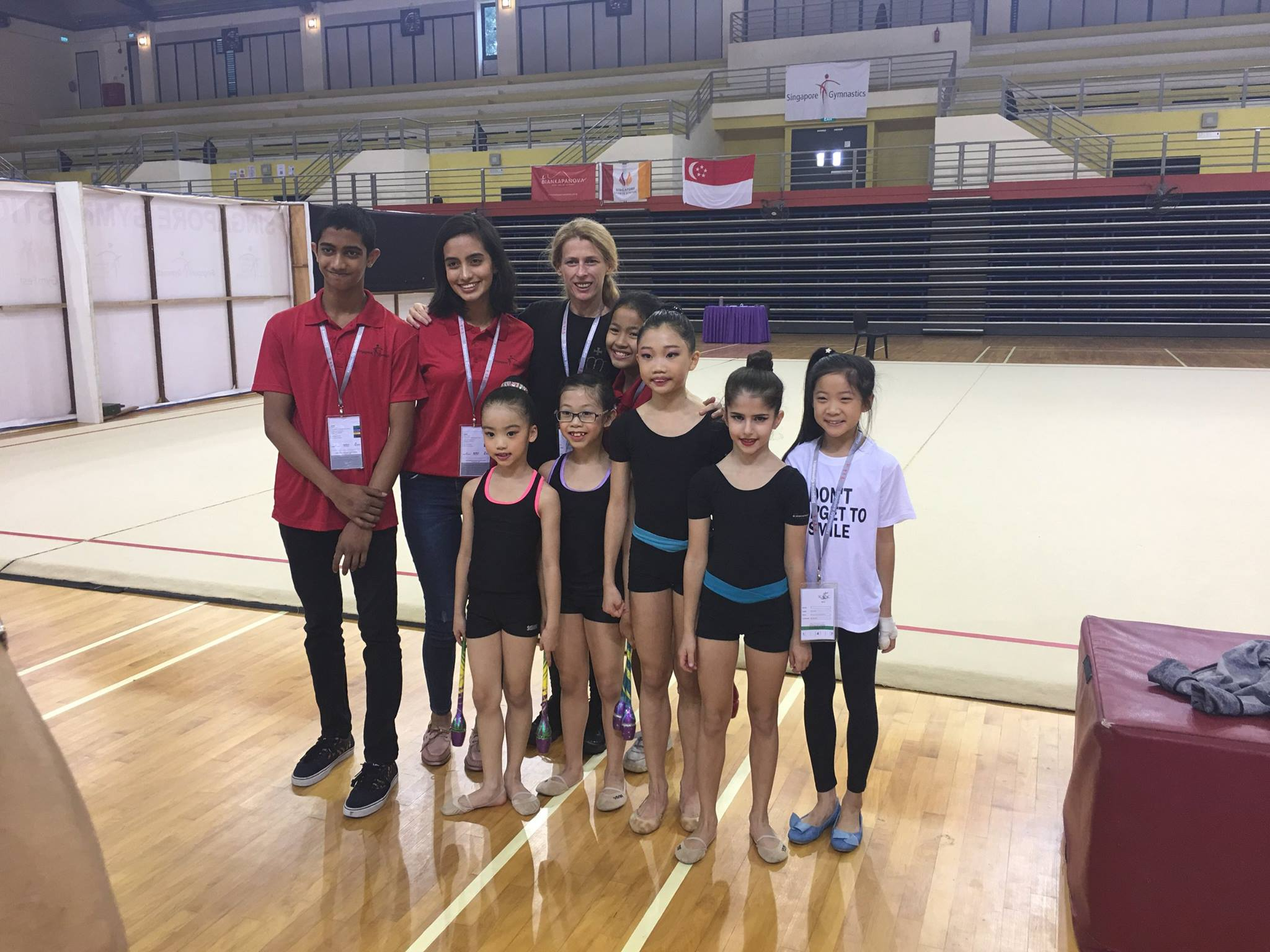 9th Singapore Gymnastics National Championships 2017 9
