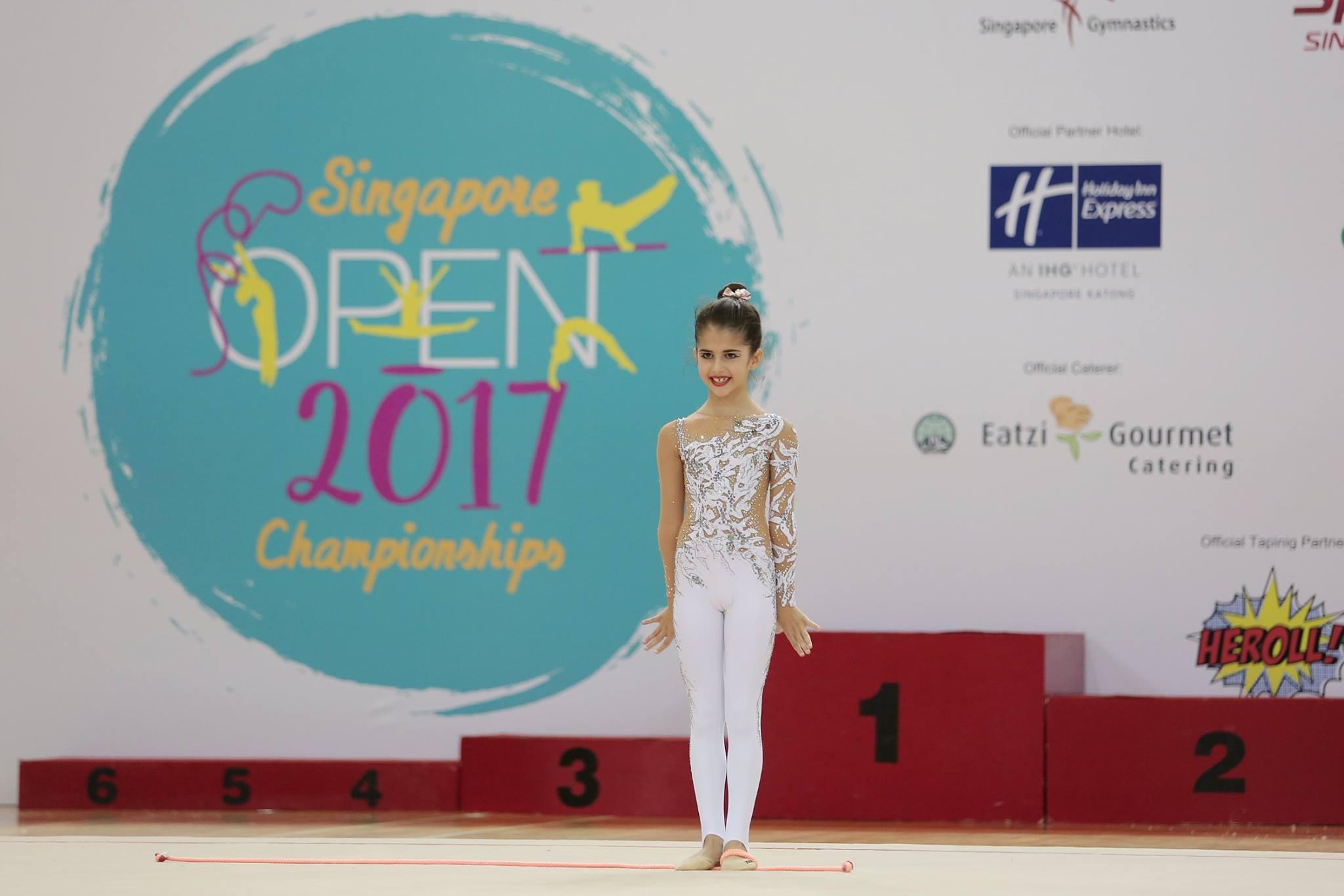 Singapore Gymnastics Open Championships 2017 19